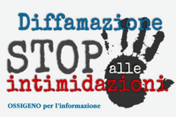 Diffamazione Stop alle intimidazioni