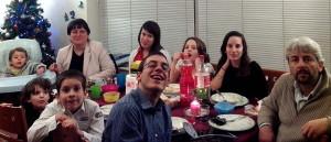 Paola, Gilberto e i sette figli in Estonia