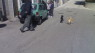 Donna aggredita da cani in piena piazza