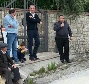 Fabio Falasca, comizio a San Martino