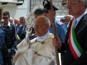 monsignor Scotti a Schiavi