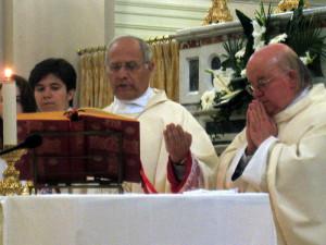 monsignor Scotti celebra a Schiavi