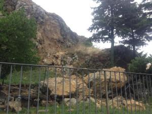 roccia caduta