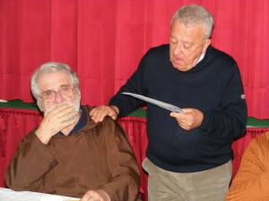 Con Giuseppe De Martino