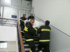 ascensore rotto
