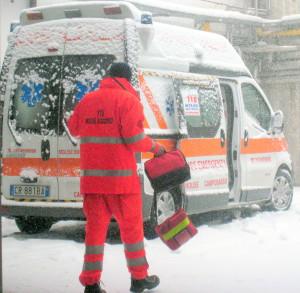 neve ambulanza