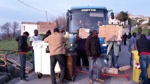 blocco profughi a palmoli