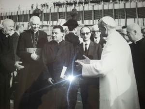 Con Papa Paolo VI  10.06.'69