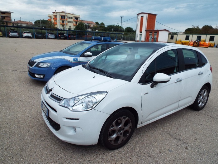 Citroen C3 rubata a Pescara recuperata dalla Polizia Autostradale di Vasto Sud
