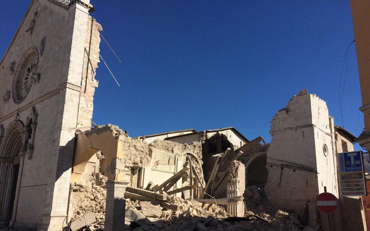 Terremoto - Renzi a Preci per la messa di Ognissanti