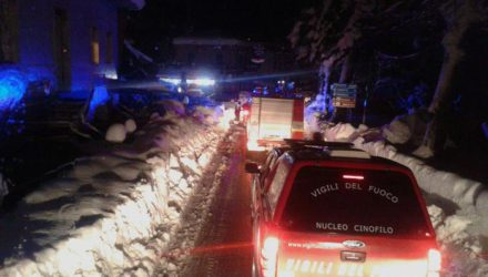 Many feared dead in Abruzzo hotel hit by avalanche