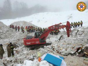 Search and rescue operations at Rigopiano hotel continue