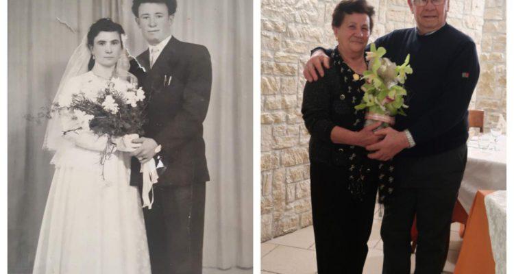 Auguri Matrimonio Lontananza : Nozze di diamante per carmela giaccio e antonio