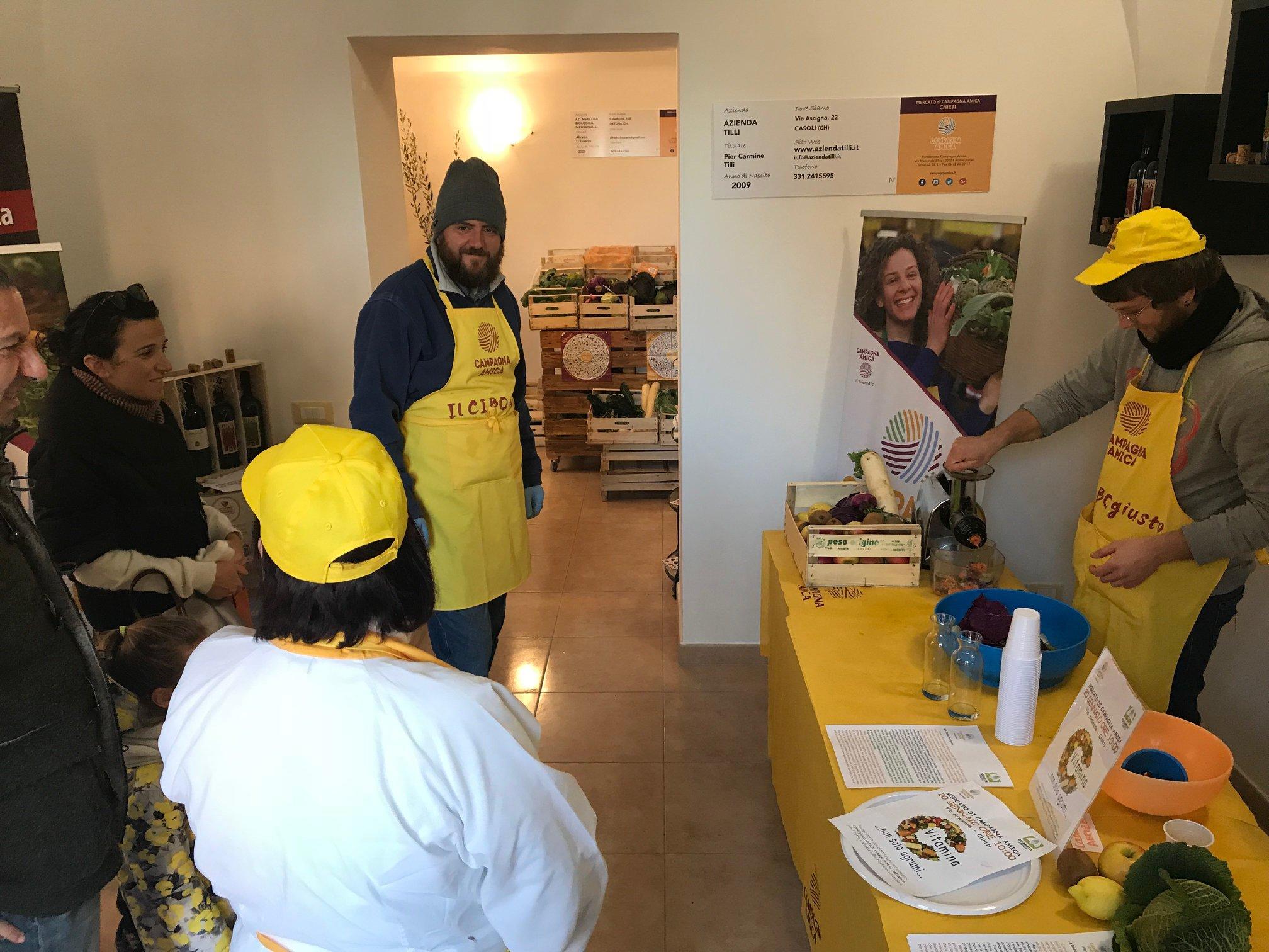 Campagna amica grande successo per l 39 iniziativa di for Subito it molise attrezzature agricole