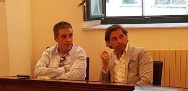 marco colaizzo con il sindaco marcovecchio