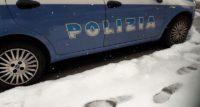 polizia neve