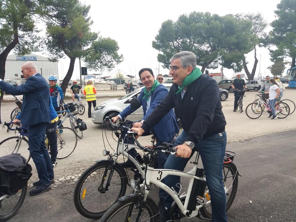 Circuito Ortona : Inaugurazioni targate pd pista ciclopedonale a ortona