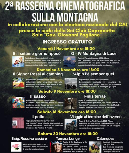 Cinematografia sulla montagna, a Capracotta la seconda edizione